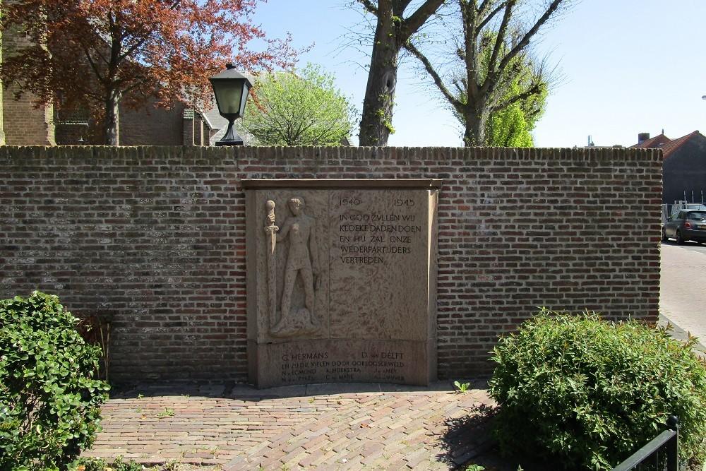 Oorlogsmonument Rijnsburg