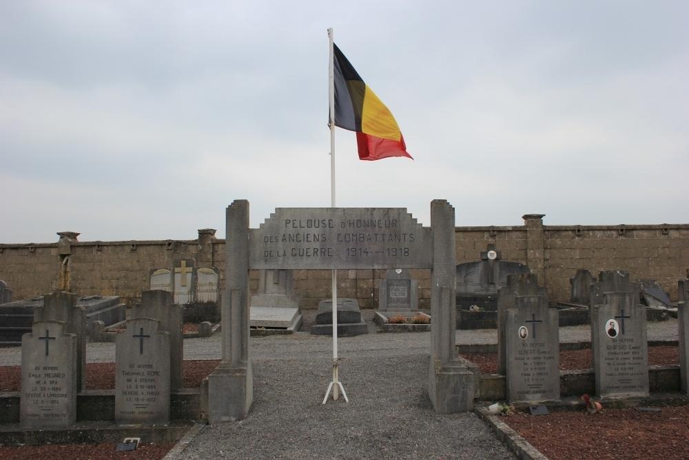 Veteran War Graves Theux