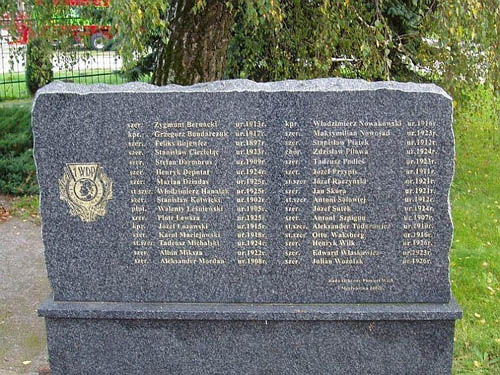 Monument Podgaje Bloedbad