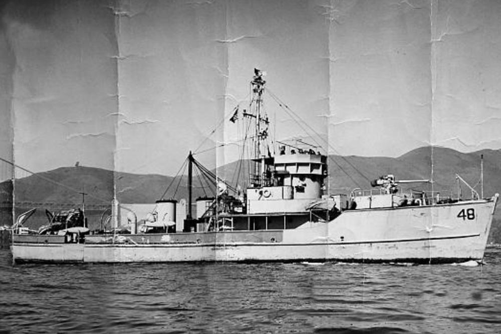 Scheepswrak USS YMS-48