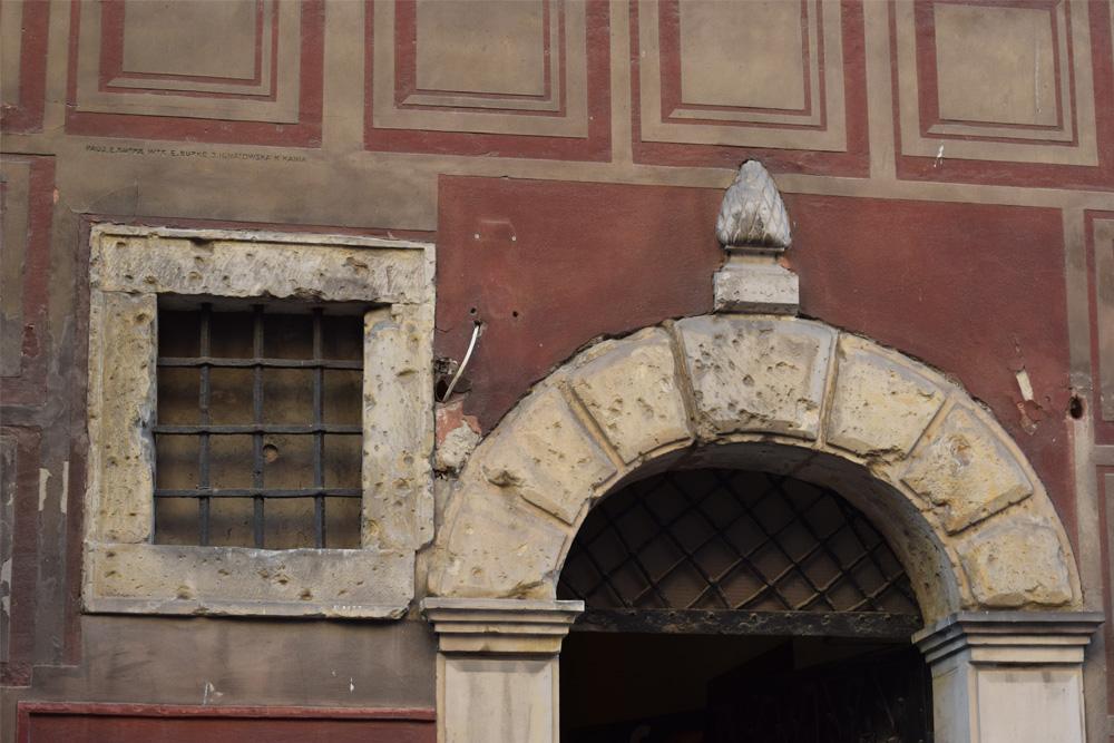 Kogelinslagen Oude Binnenstad Warschau