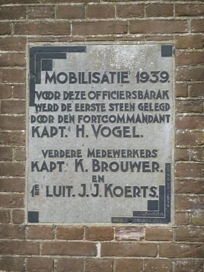Plaquette Mobilisatie 1939