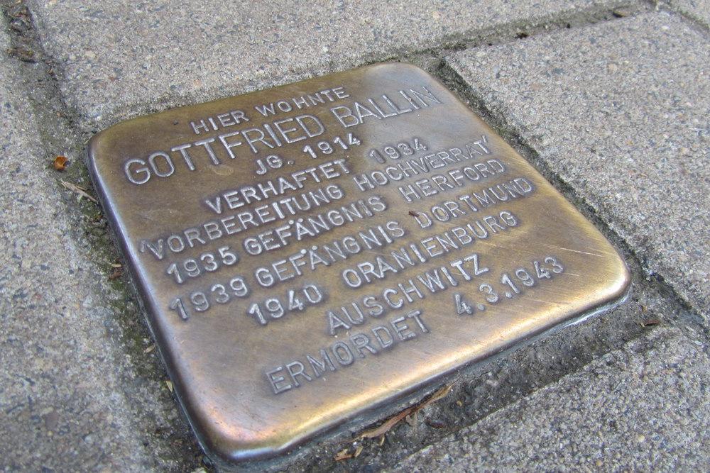 Stolperstein Steinfelder Gasse 8