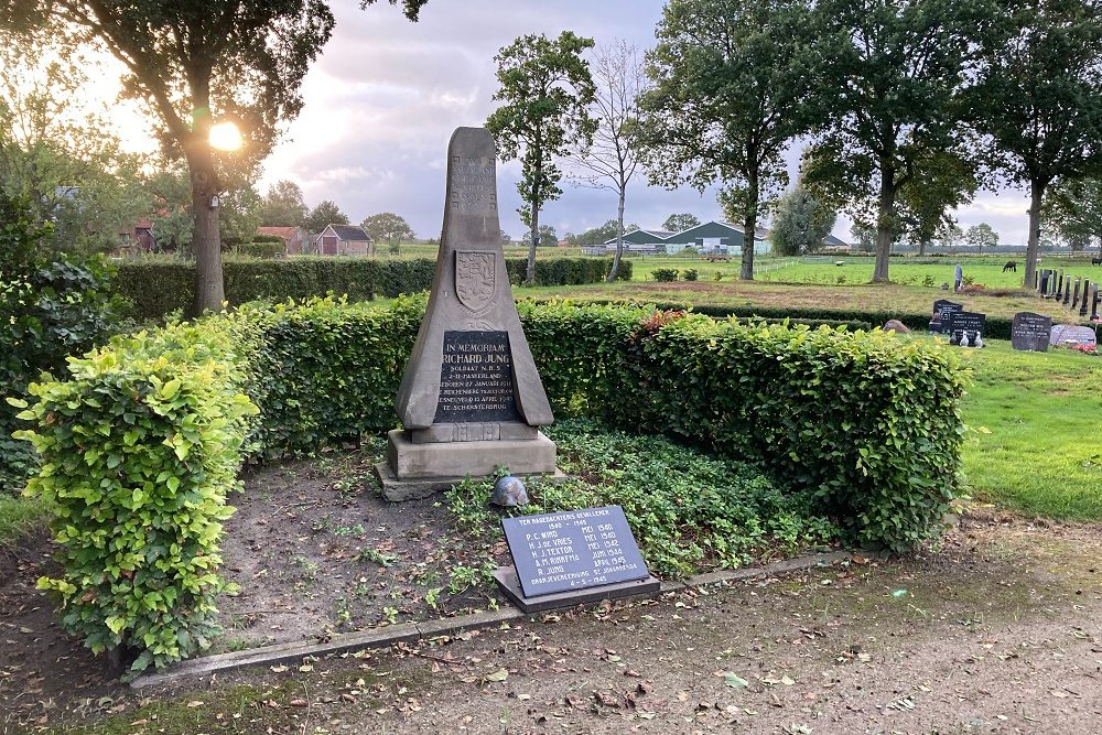Oorlogsmonument Algemene Begraafplaats Sintjohannesga