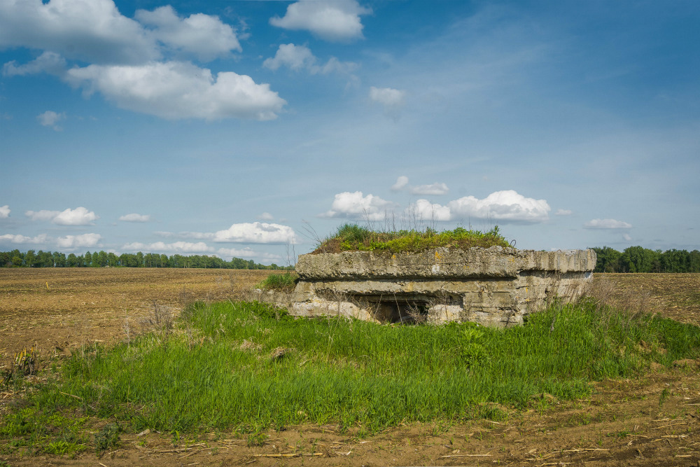 Destroyed Pillbox Merkulievo
