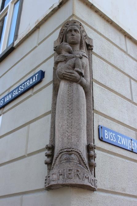 Monument Maria Bisschop Zwijsenstraat Tilburg