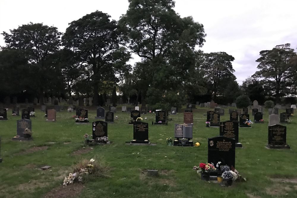Commonwealth War Graves St. Barnabas Church Burial Ground