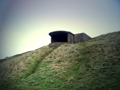 Bunker for Searchlight Fort Walney