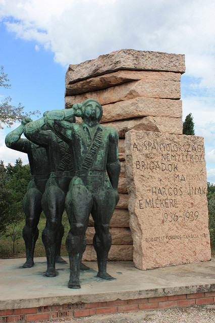 Memorial International Brigades Budapest
