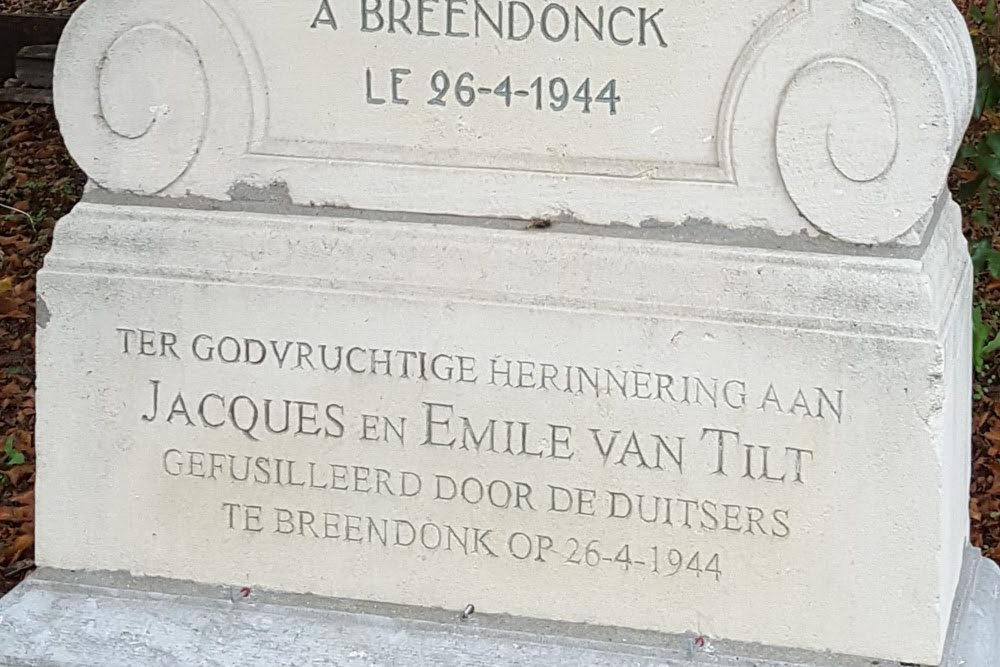 Memorial Van Tilt and De Briey