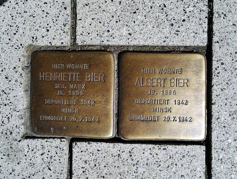 Stolpersteine Hauptstraße 24