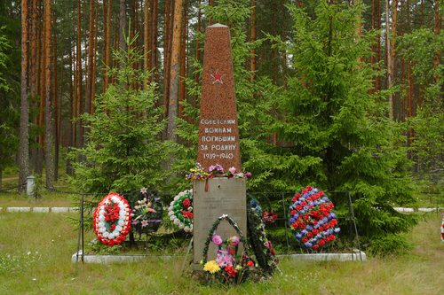 Collective Grave Russian Soldiers Punnus