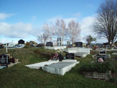 Oorlogsgraf van het Gemenebest Nukuhau Maori Cemetery