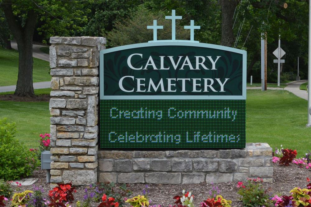 American War Grave Calvary Cemetery
