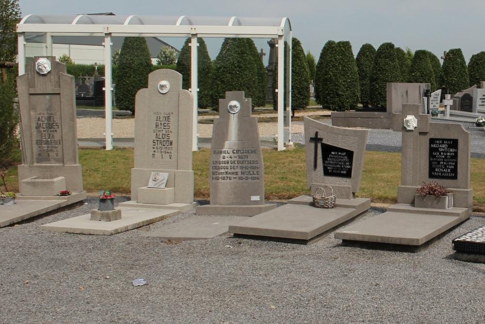 Graves Civilian Casualties Ledegem