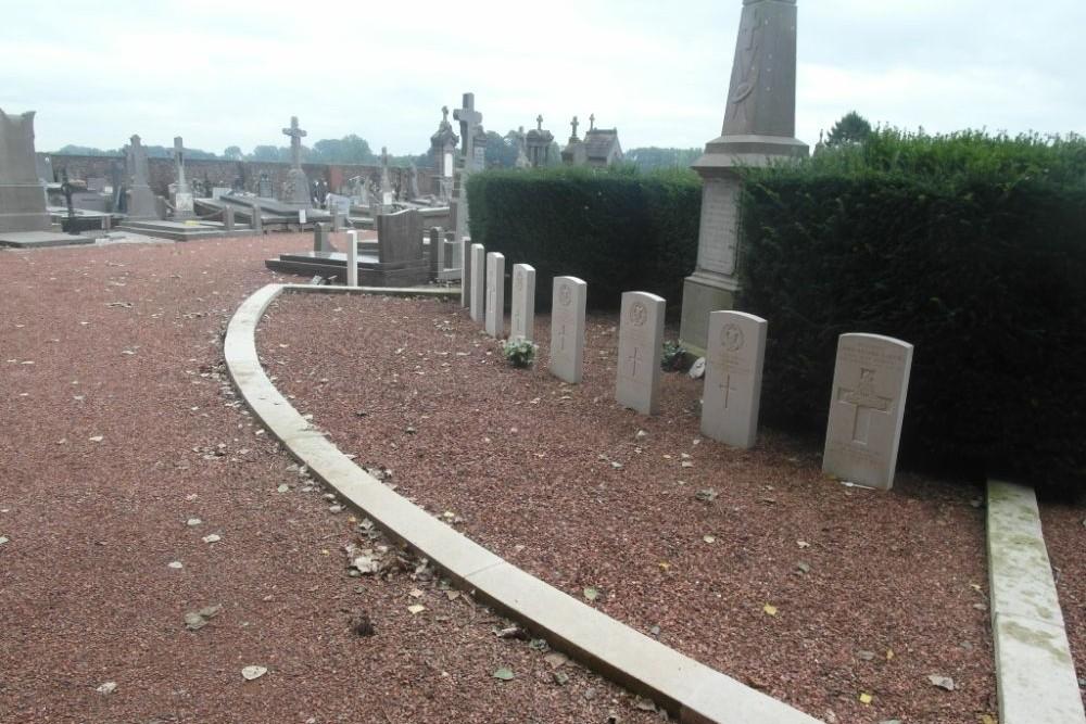 Oorlogsgraven van het Gemenebest Herchies