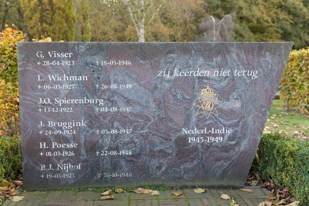 Indië-monument Algemene Begraafplaats Gorssel