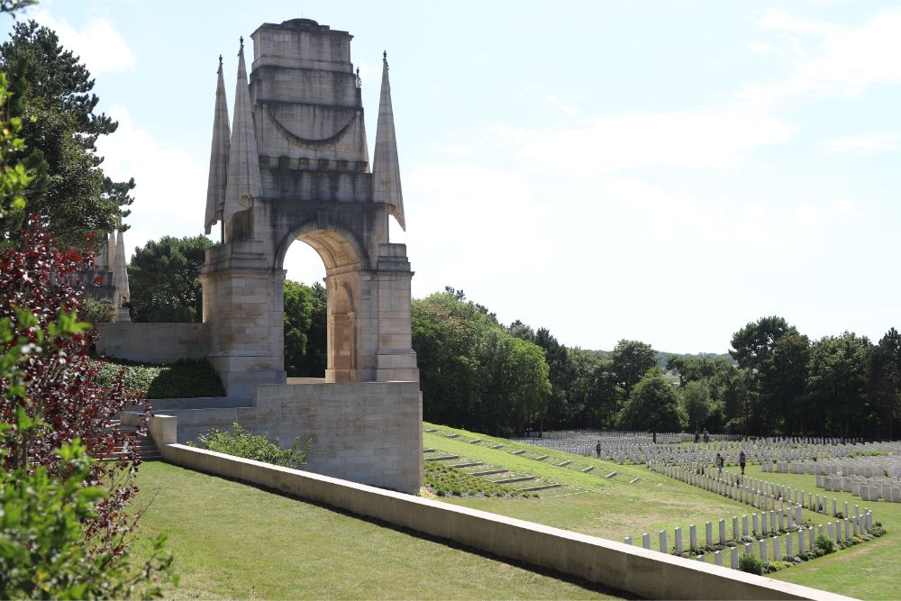 Commonwealth War Cemetery Étaples