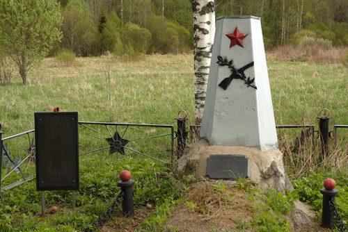 Mass Grave Soviet Soldiers Okluze