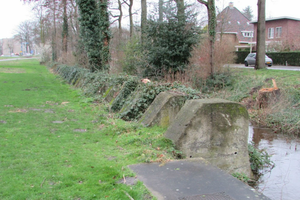 German Tank Barrier Blocks Bergen op Zoom