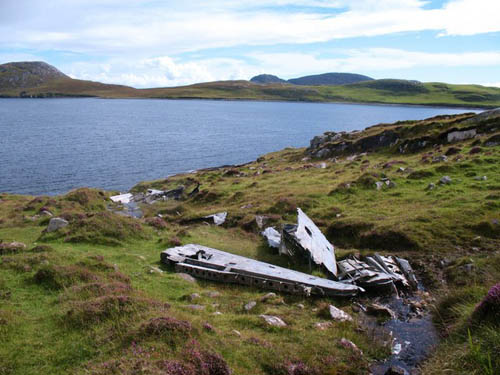 Crash Site & Remains PBY Catalina IVb flying boat (JX273)