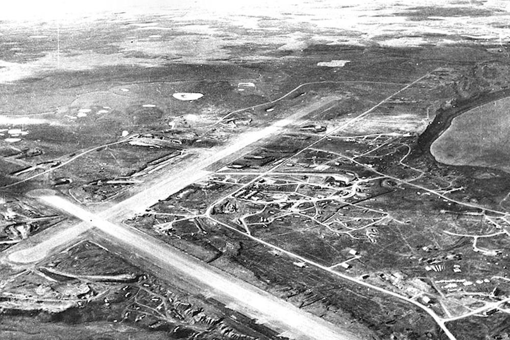 Crashlocatie P-38E Lightning &  P-40E Warhawk