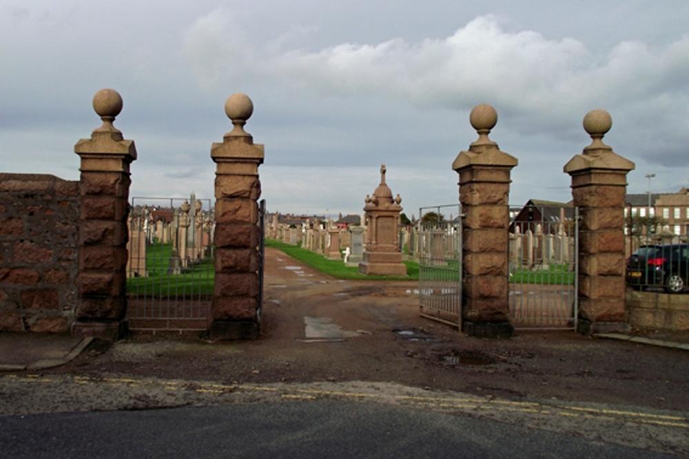 Commonwealth War Graves Peterhead Cemetery