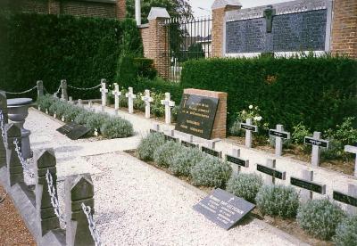 Belgische Oorlogsgraven Eeklo