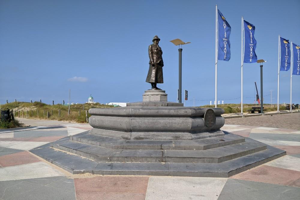Monument Koningin Wilhelmina Noordwijk