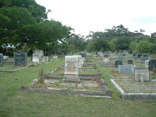 Commonwealth War Graves Settlers' Cemetery