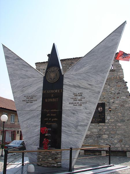 Memorial Killed Soldiers Kosovo Liberation Army