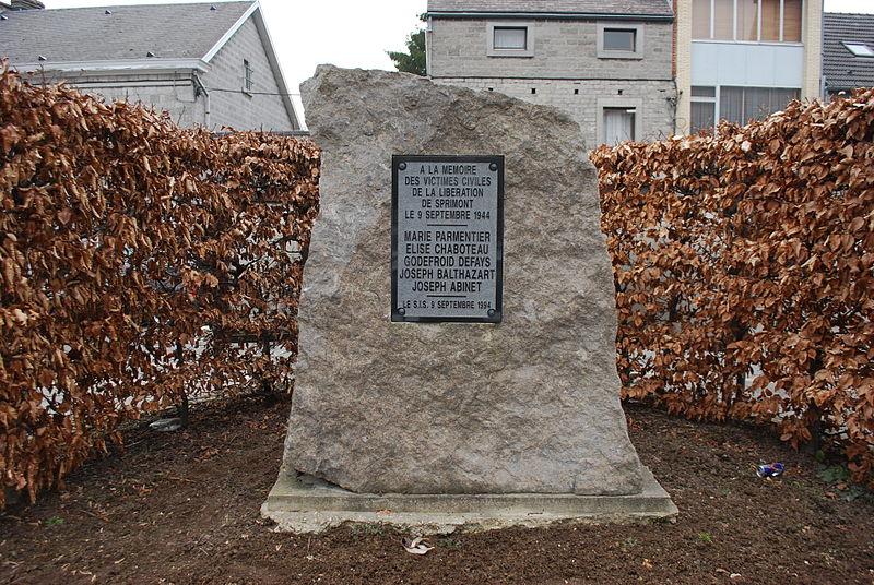 Memorial Killed Civilians Sprimont
