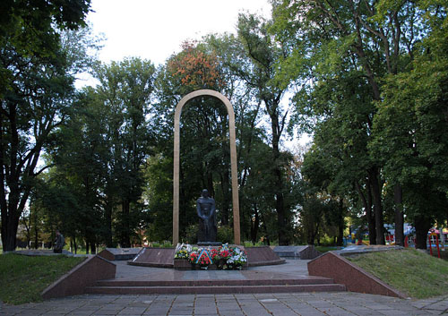 Mass Grave Soviet Soldiers & War Memorial Letichev