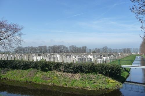 Jewish War Graves Jewish Cemetery Muiderberg