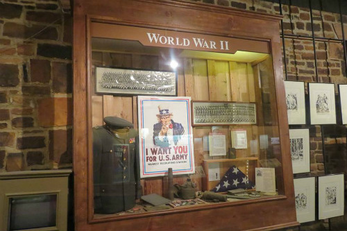 Exhibit WWII in Seminole Nation Museum