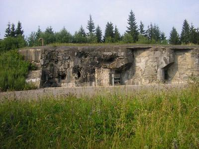 Benešovalinie - Fort Hanicka
