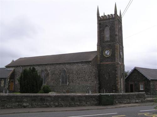 Oorlogsgraven van het Gemenebest St. Mary Church of Ireland Churchyard