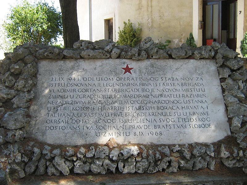 Monument Oprichting Partizanenbrigade
