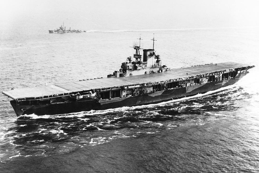 Scheepswrak USS Wasp (CV-7)