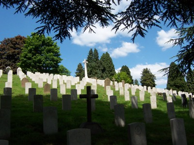 Commonwealth War Graves Aldershot Military Cemetery