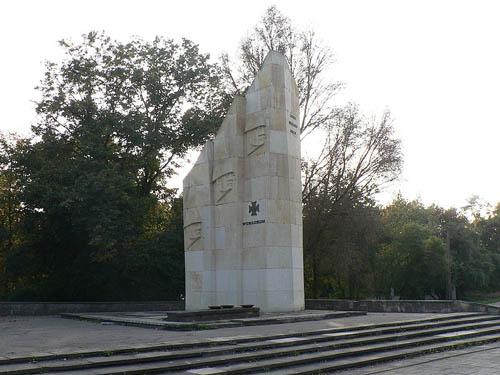 Monument 1e Poolse Leger Pruszków