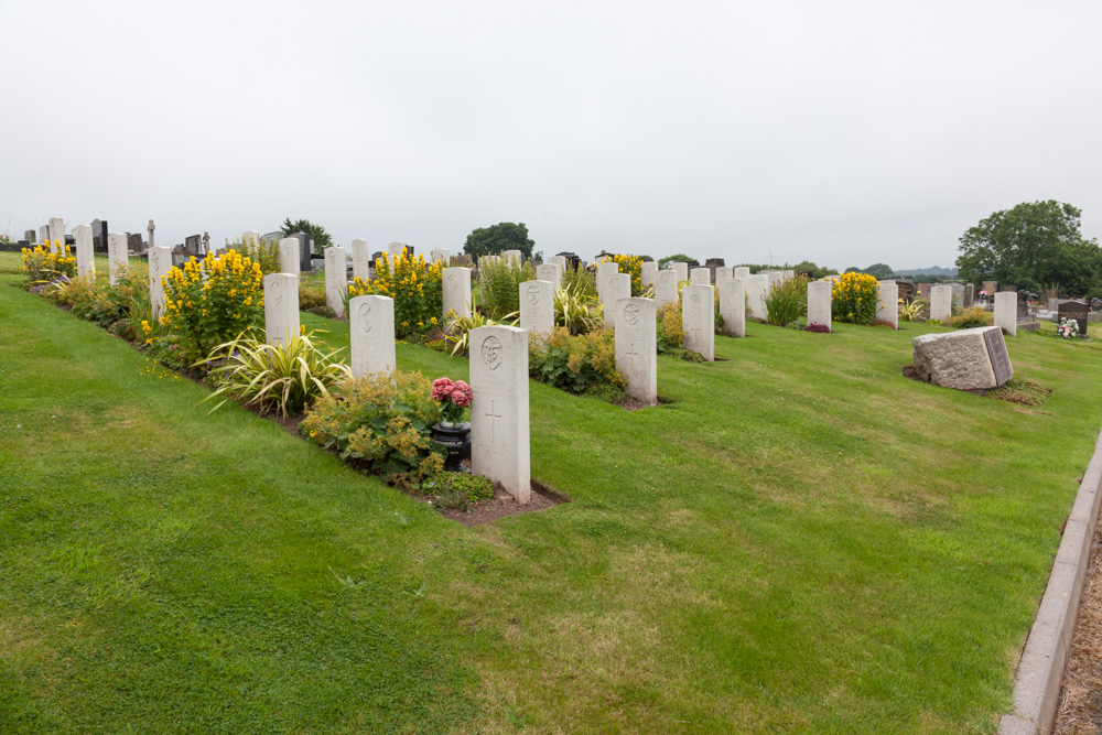 Commonwealth War Graves Milford Haven Cemetery