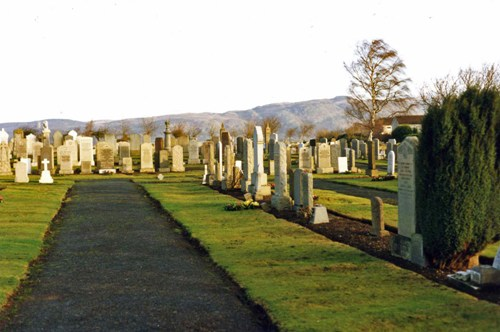 Commonwealth War Graves St Ninian Burial Ground