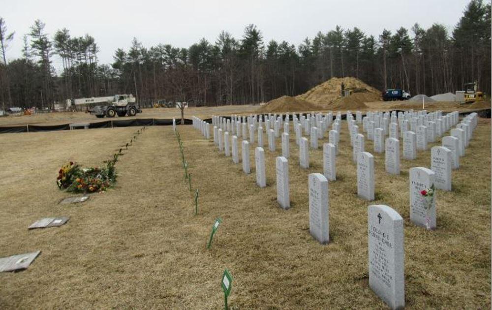 Amerikaanse Oorlogsgraven New Hampshire State Veterans Cemetery