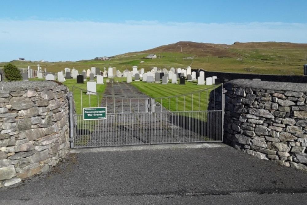Oorlogsgraven van het Gemenebest Garth Old Churchyard