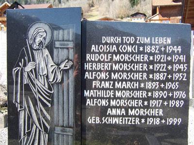 Oostenrijkse Oorlogsgraven Bürserberg