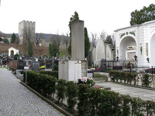 Mass Grave Soviet Soldiers Hainburg an der Donau