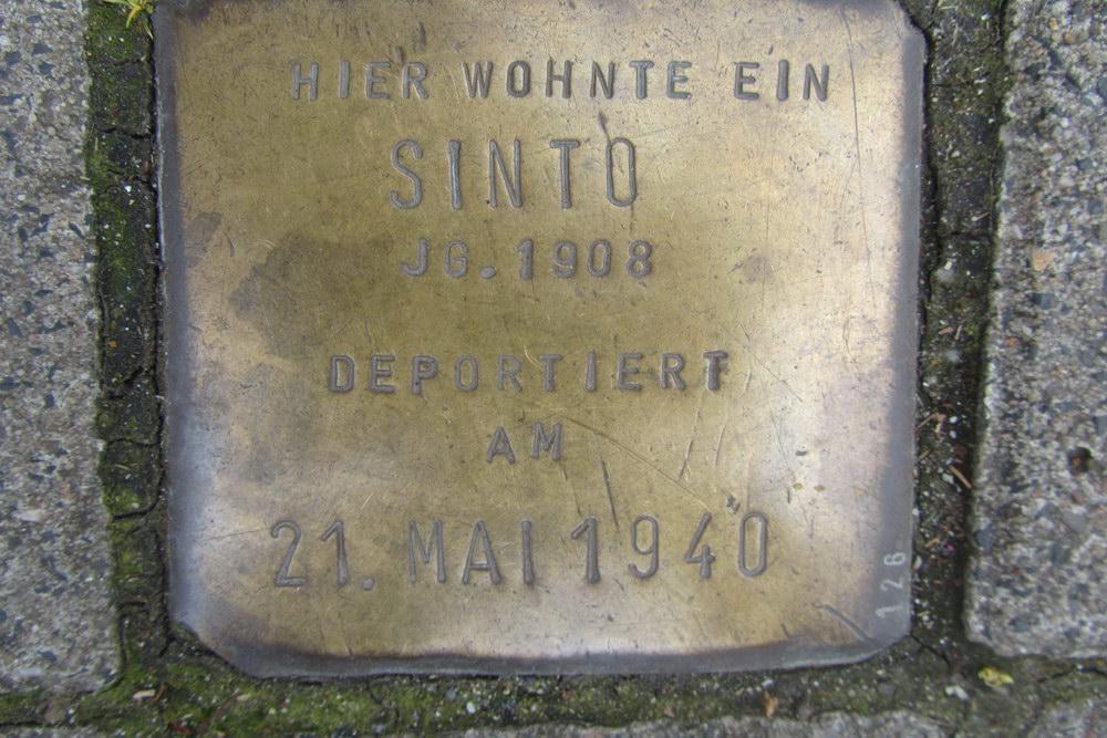Stolperstein Unter Krahnenbäumen 63