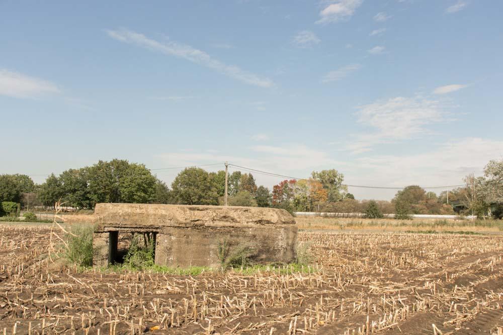 German bunker 131 Stellung Antwerp-Turnhout WWI Oud-Turnhout