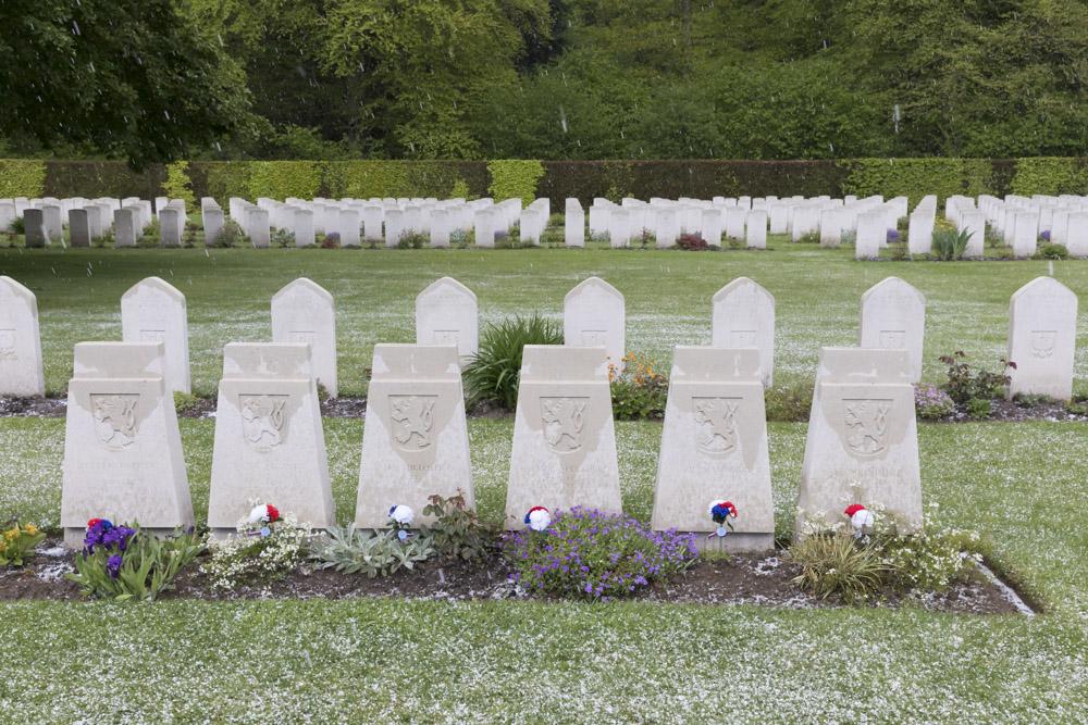 Czechoslovak War Graves Reichswald Forest Cemetery